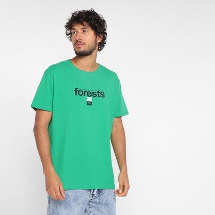 Camiseta Osklen Vintage Forests Masculina