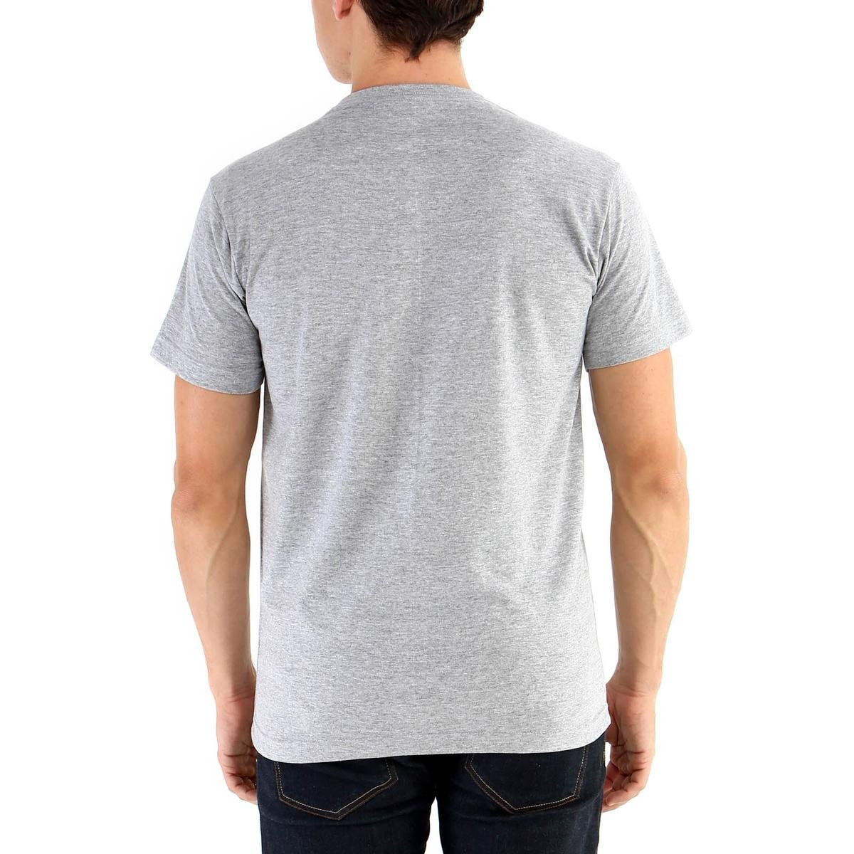 Camiseta Ouroboros manga curta Bagunça - Cinza