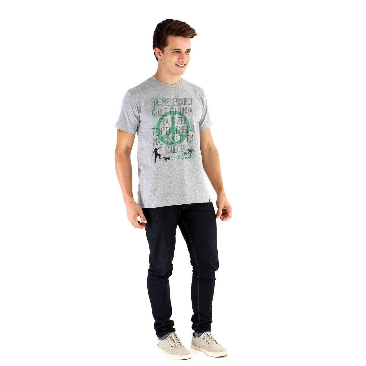 Camiseta Ouroboros manga curta ENERGIA DILATADA - Cinza