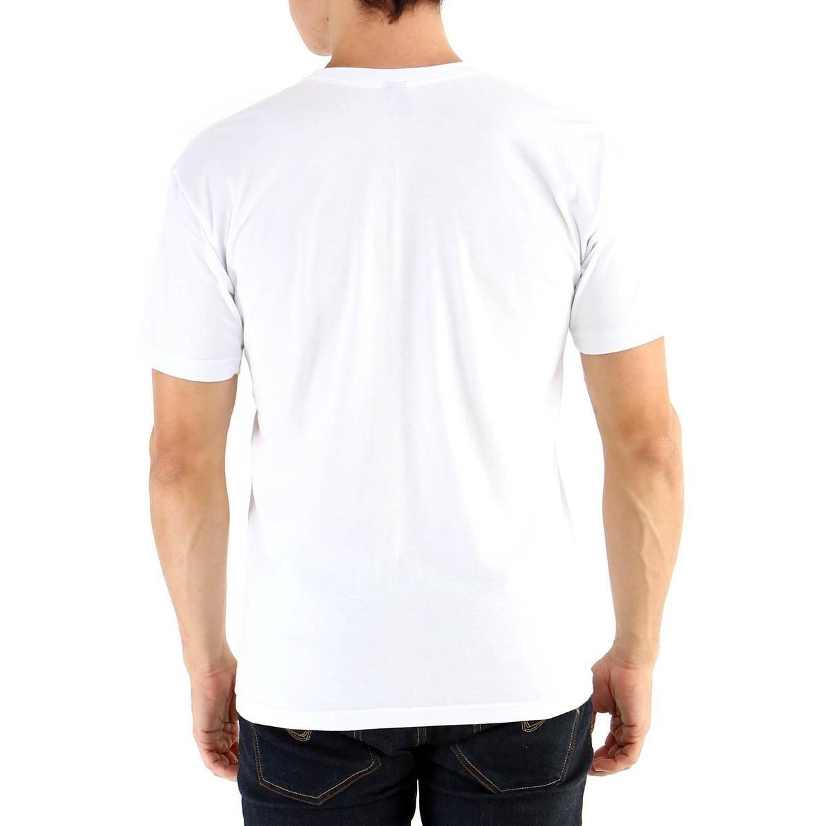 Camiseta Ouroboros manga curta Fight - Branco