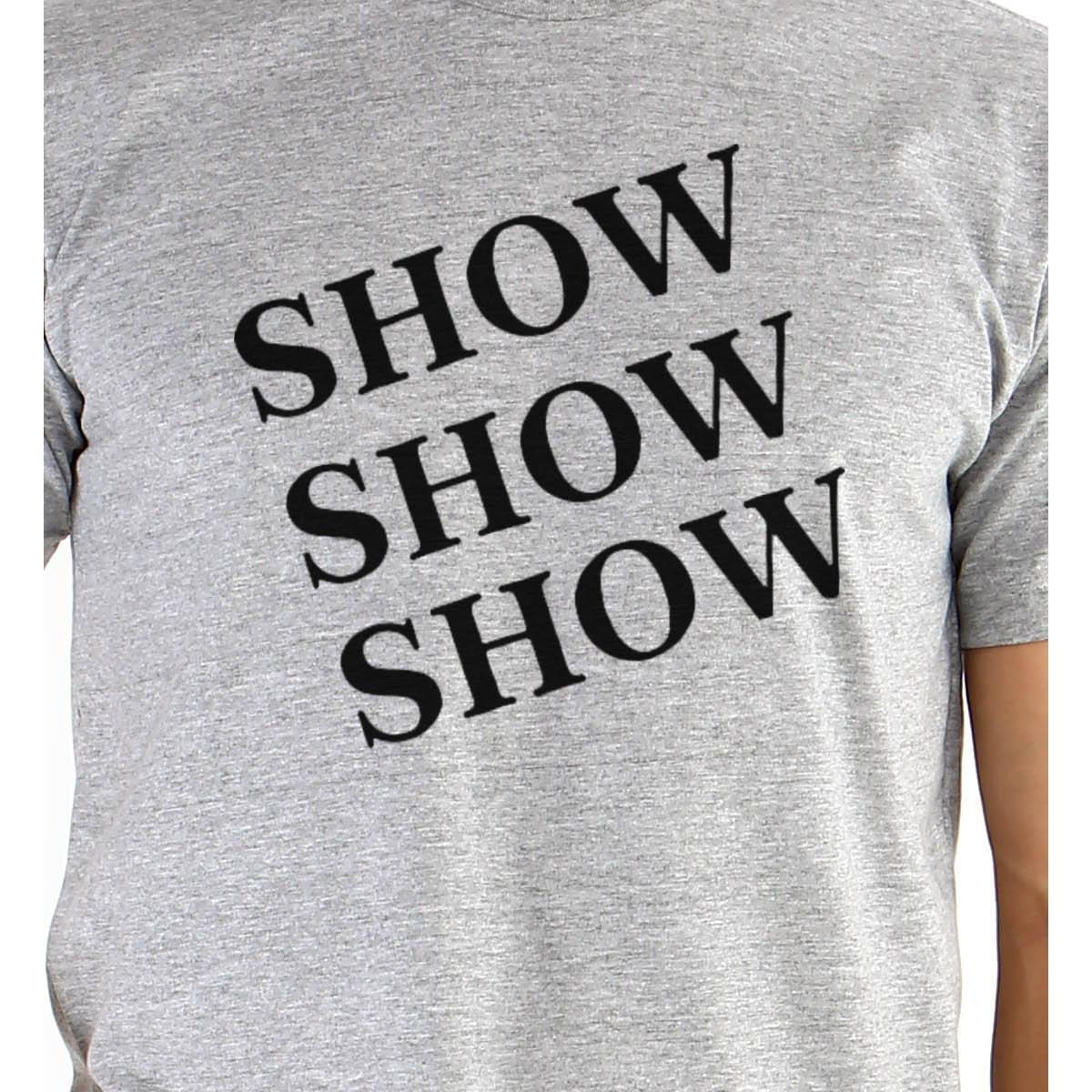 Camiseta Ouroboros manga curta Show Brooklyn99 - Cinza