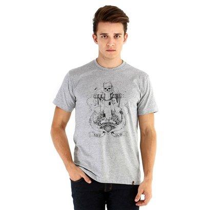 Camiseta Ouroboros Manga Curta Sink Or Swin