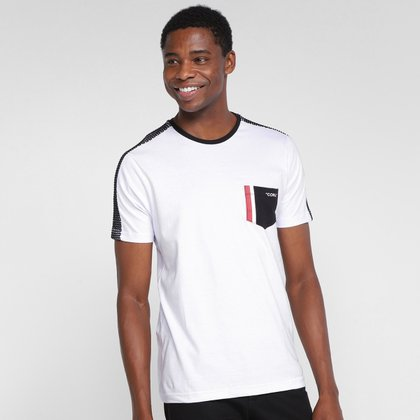 Camiseta Overcore Bolso Masculina