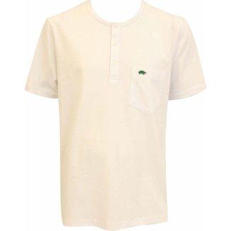 Camiseta Pau a Pique botões Masculina