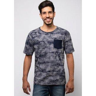 Camiseta Pau a Pique estampada Masculina