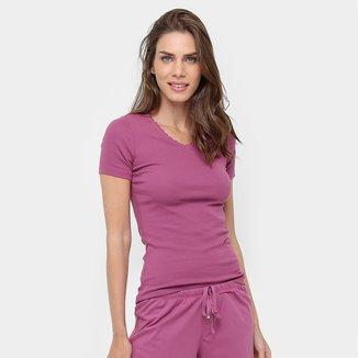 Camiseta Pijama Liz Manga Curta