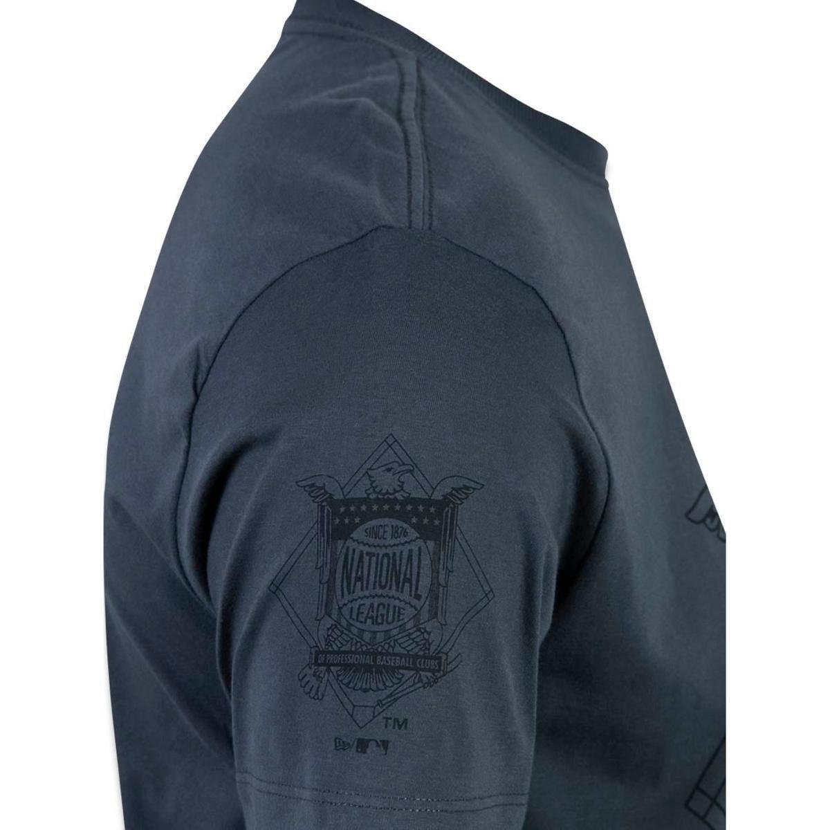 Camiseta Pittsburgh Pirates MLB New Era Masculina - Chumbo - Compre ... 4a0841c84e9