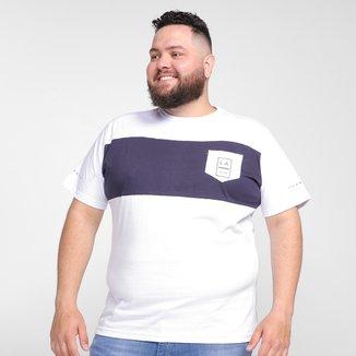 Camiseta Plus Size Industrie Estampada Masculina