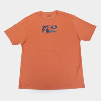 Camiseta Plus Size Rusty Comp Dye Masculina