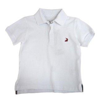 Camiseta Polo Básica Infantil Masculino Squalo