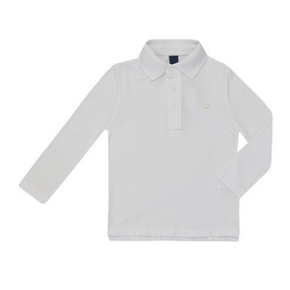 Camiseta Polo Basica Manga Longa