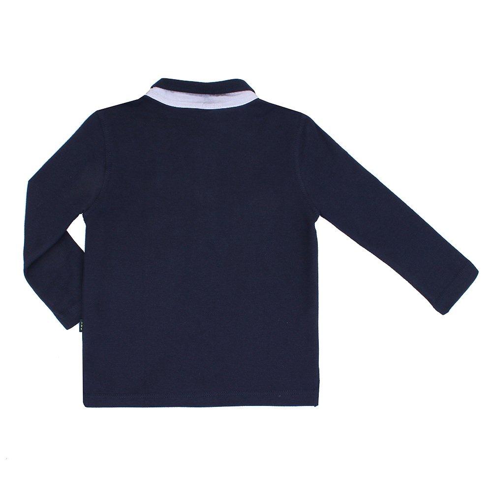 5afeebd8db Camiseta Polo Basica Vr Kids Manga Longa - Marinho - Compre Agora ...
