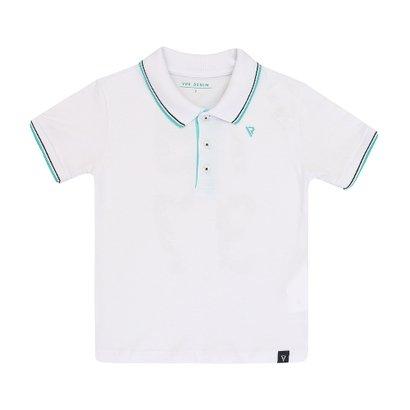 Camiseta Polo Masculino Infantil Manga Curta