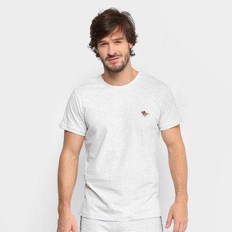 Camiseta Polo RG 518 Bordado Color Masculina
