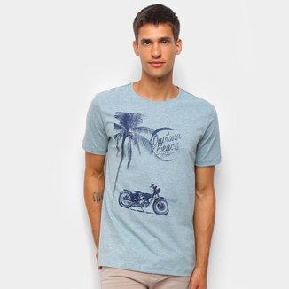 Camiseta Polo Wear Estampada Masculina