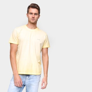 Camiseta Polo Wear Tingida Manga Curta Masculina