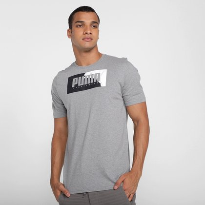 Camiseta Puma Box Graphic Masculina