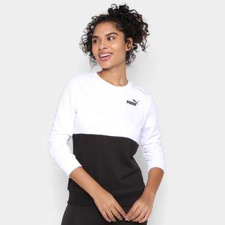 Camiseta Puma Essentials Manga Longa Feminina