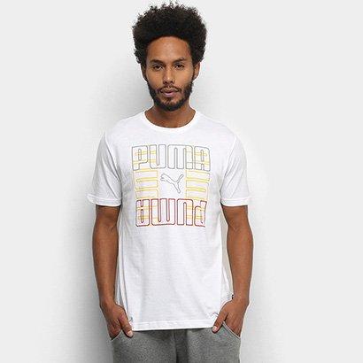 Camiseta Puma Puma Brand Graphic Masculina