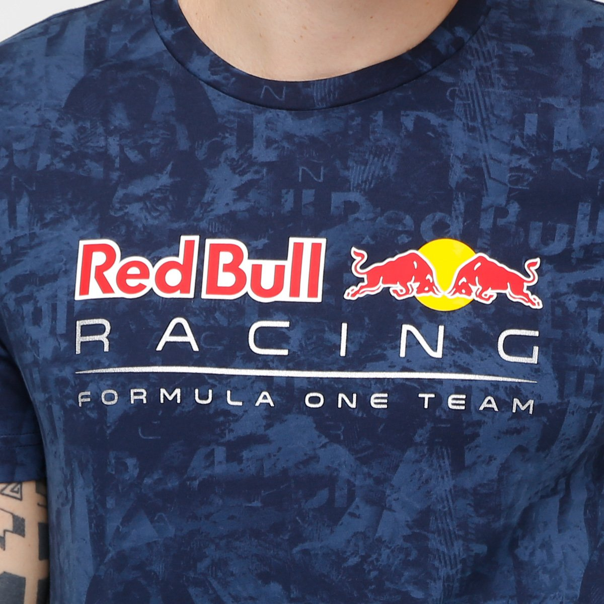 10db99bf8a Camiseta Puma Red Bull Racing Allover Masculina - Compre Agora