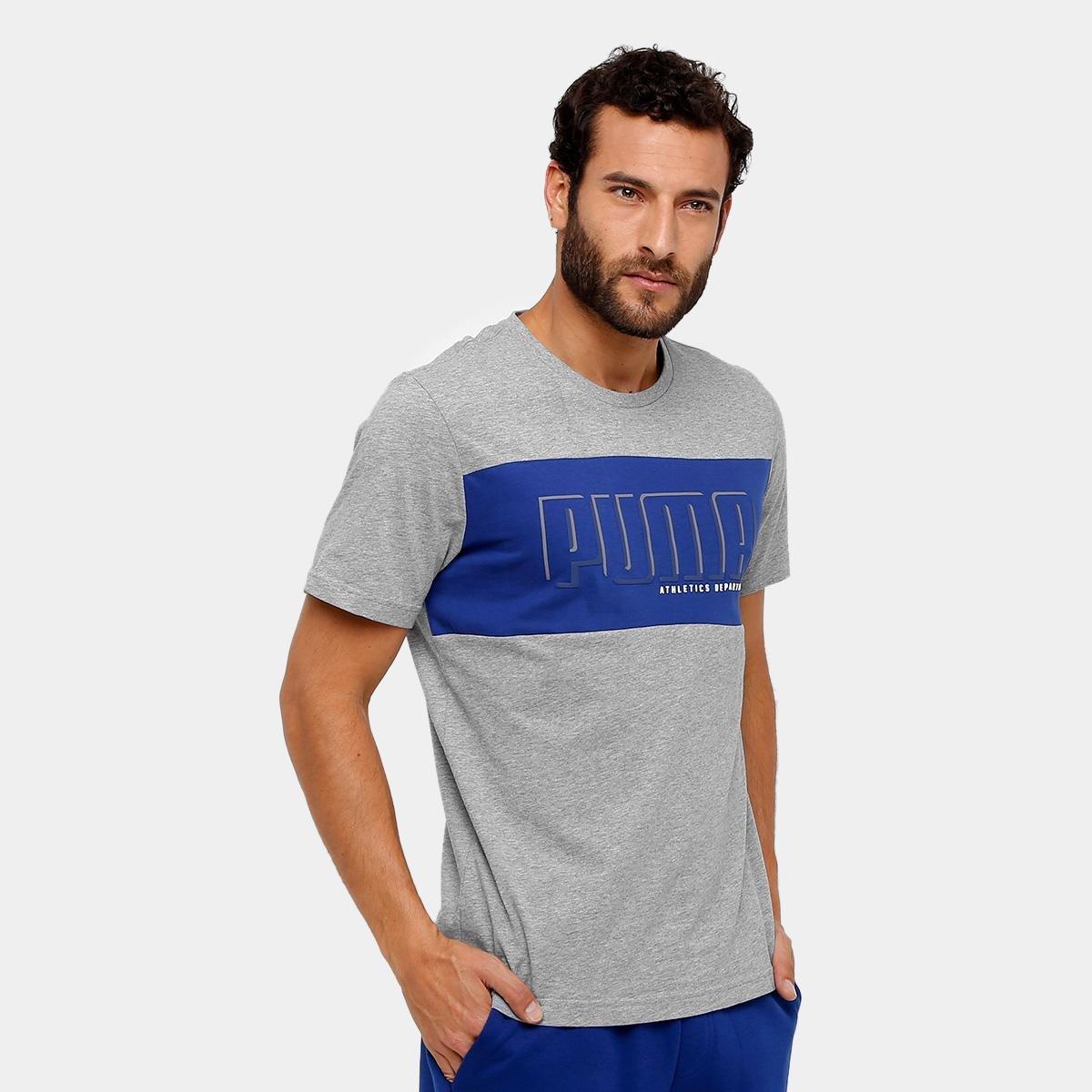 3210e60b62 Camiseta Puma Style Athletics Graphic Tee Masculina - Compre Agora ...