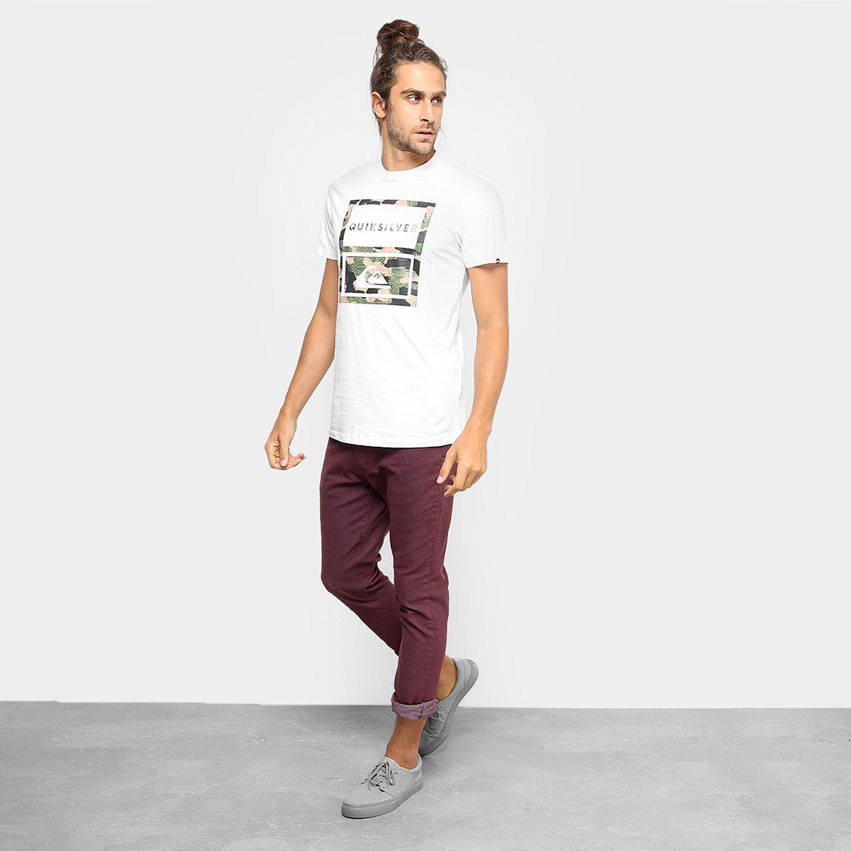 776aeb7719363 Camiseta Quiksilver Hawaii Camo Masculina - Compre Agora   Zattini