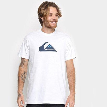 Camiseta Quiksilver Logo Masculina