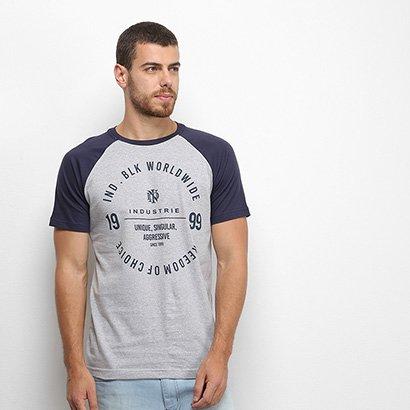 Camiseta Raglan Industrie Masculina