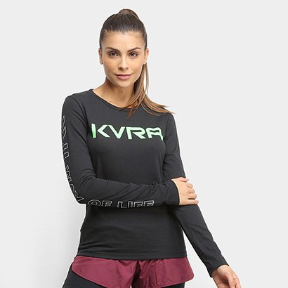 Camiseta Raglan KVRA Style Feminina
