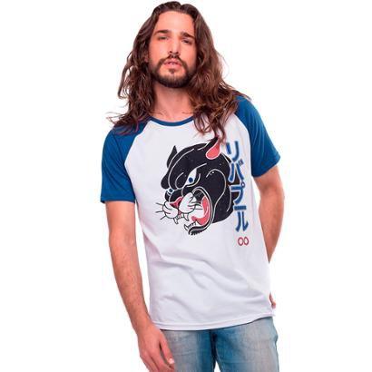 Camiseta Raglan Pantera Liverpool Masculina