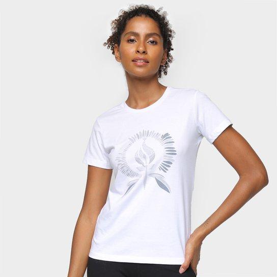 Camiseta Rainha Soft Feminina - Branco