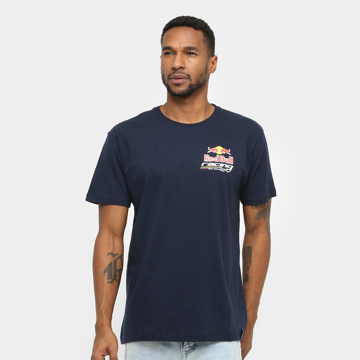 1d31e1e551 Camiseta Red Bull Racing Stock Car Dynamic Masculina - Compre Agora ...