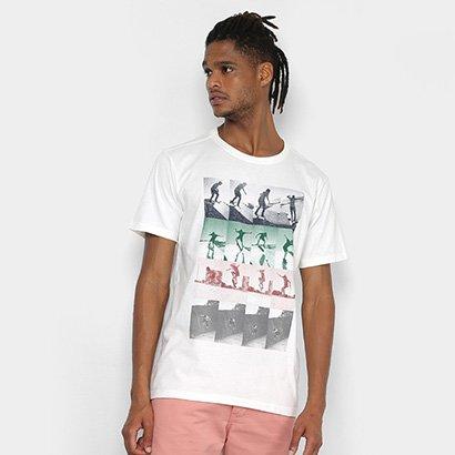 Camiseta Redley Silk Sequencera Negativera Masculina