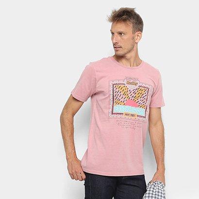 Camiseta Redley Tinturada Silk 80S Masculina