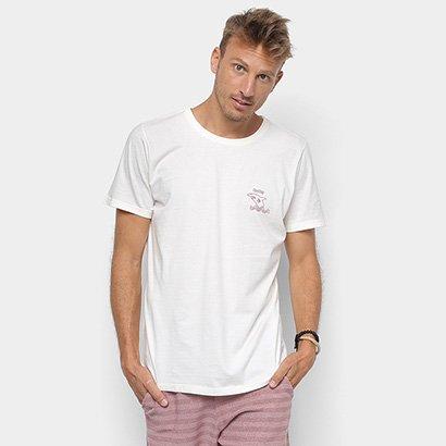 Camiseta Redley Tinturada Silk Perigo Tubarão Masculina