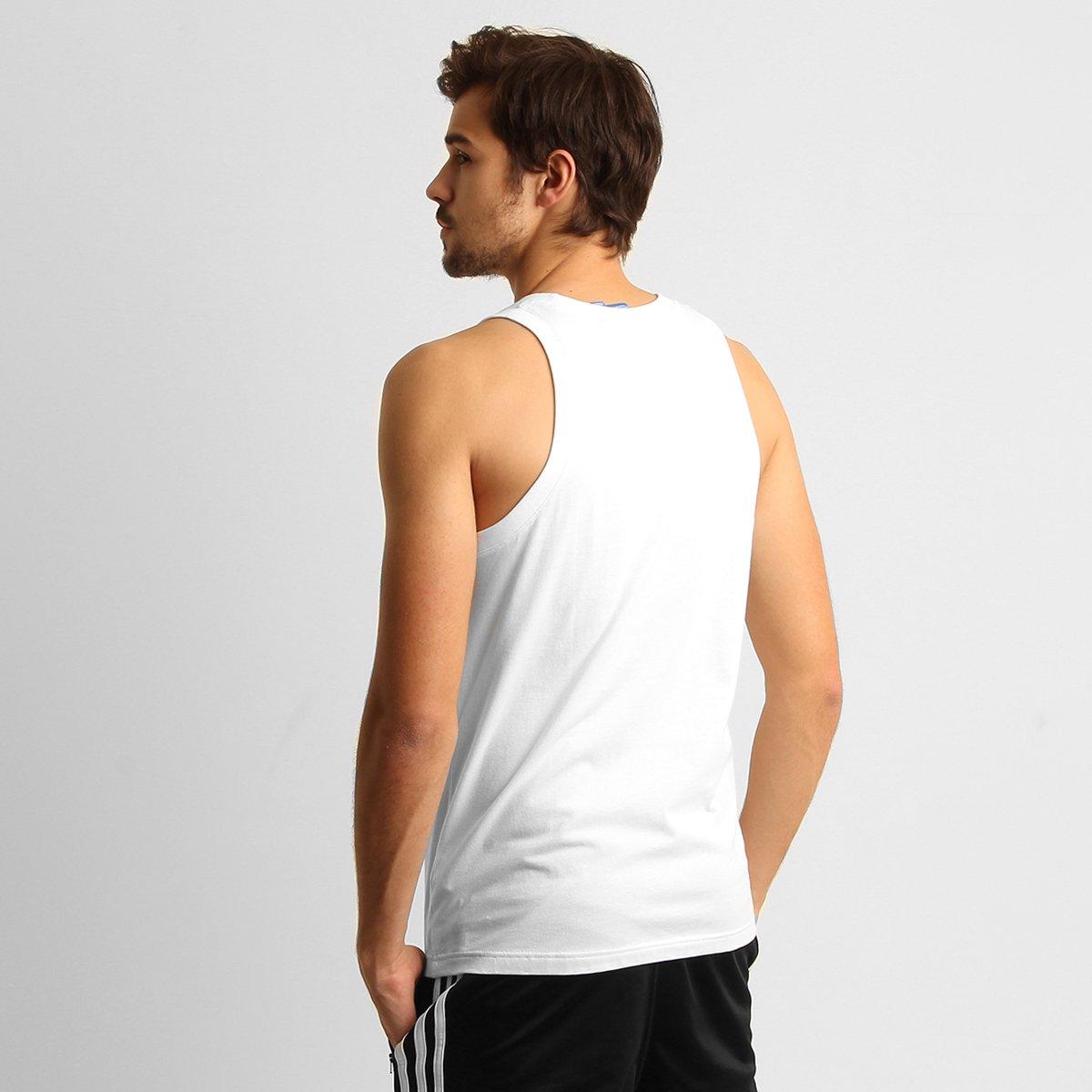 8038dd3b55 Camiseta Regata Adidas Originals Trefoil  Camiseta Regata Adidas Originals  Trefoil ...