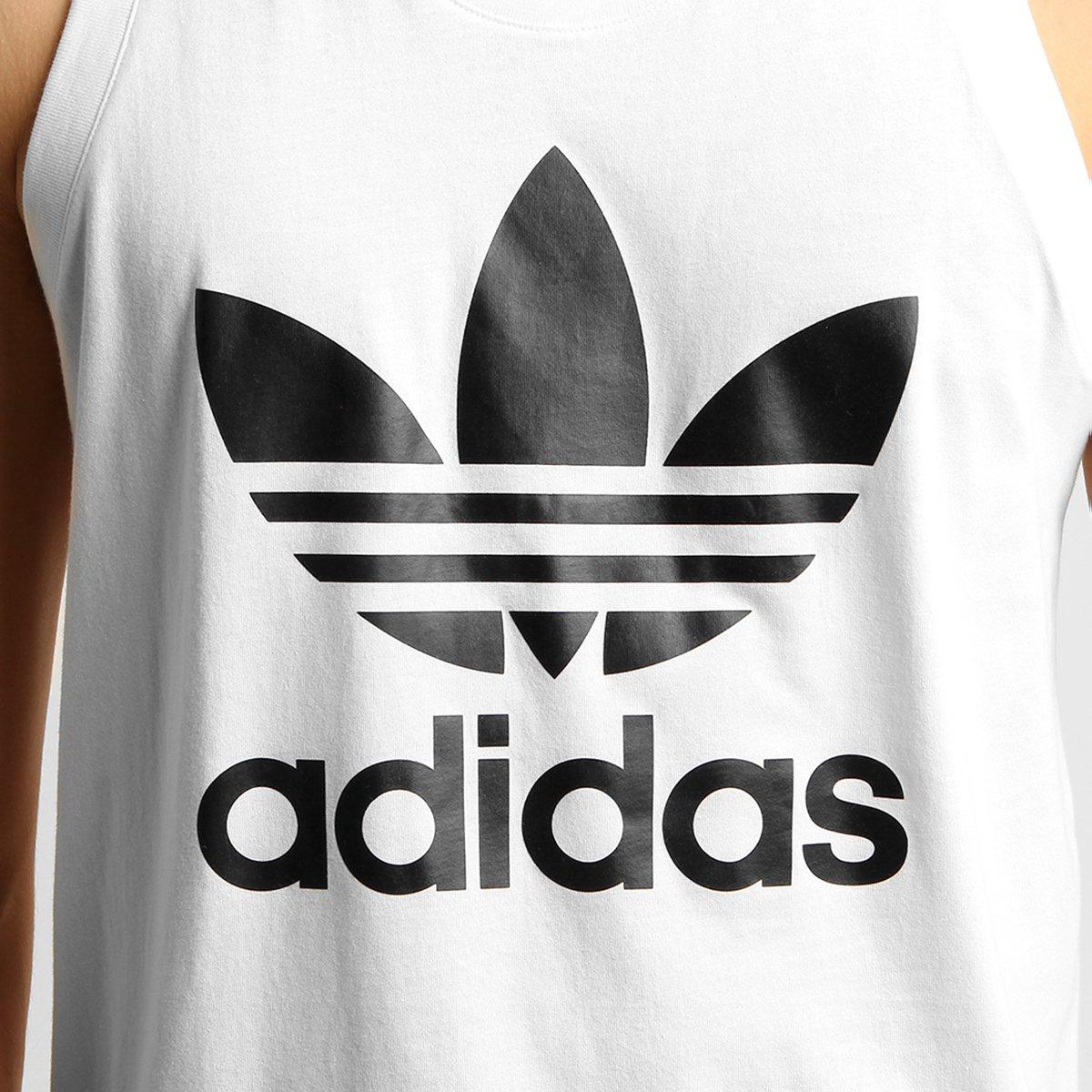 82a109eb1c Camiseta Regata Adidas Originals Trefoil - Compre Agora