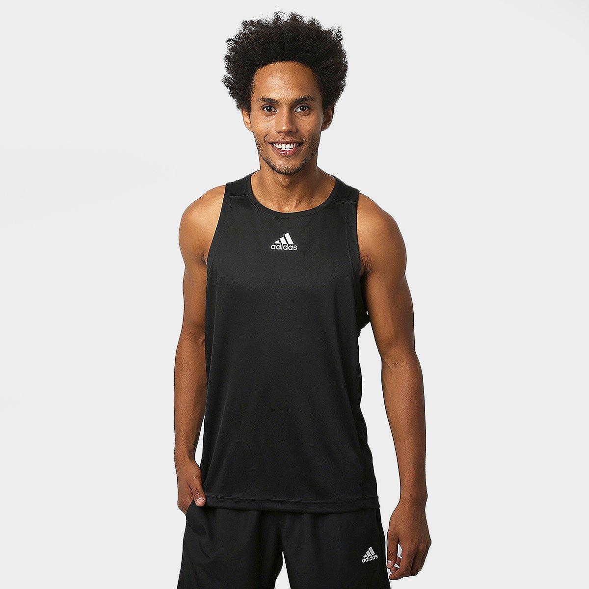 05ca9495ea00e Camiseta Regata Adidas Sequencials - Compre Agora
