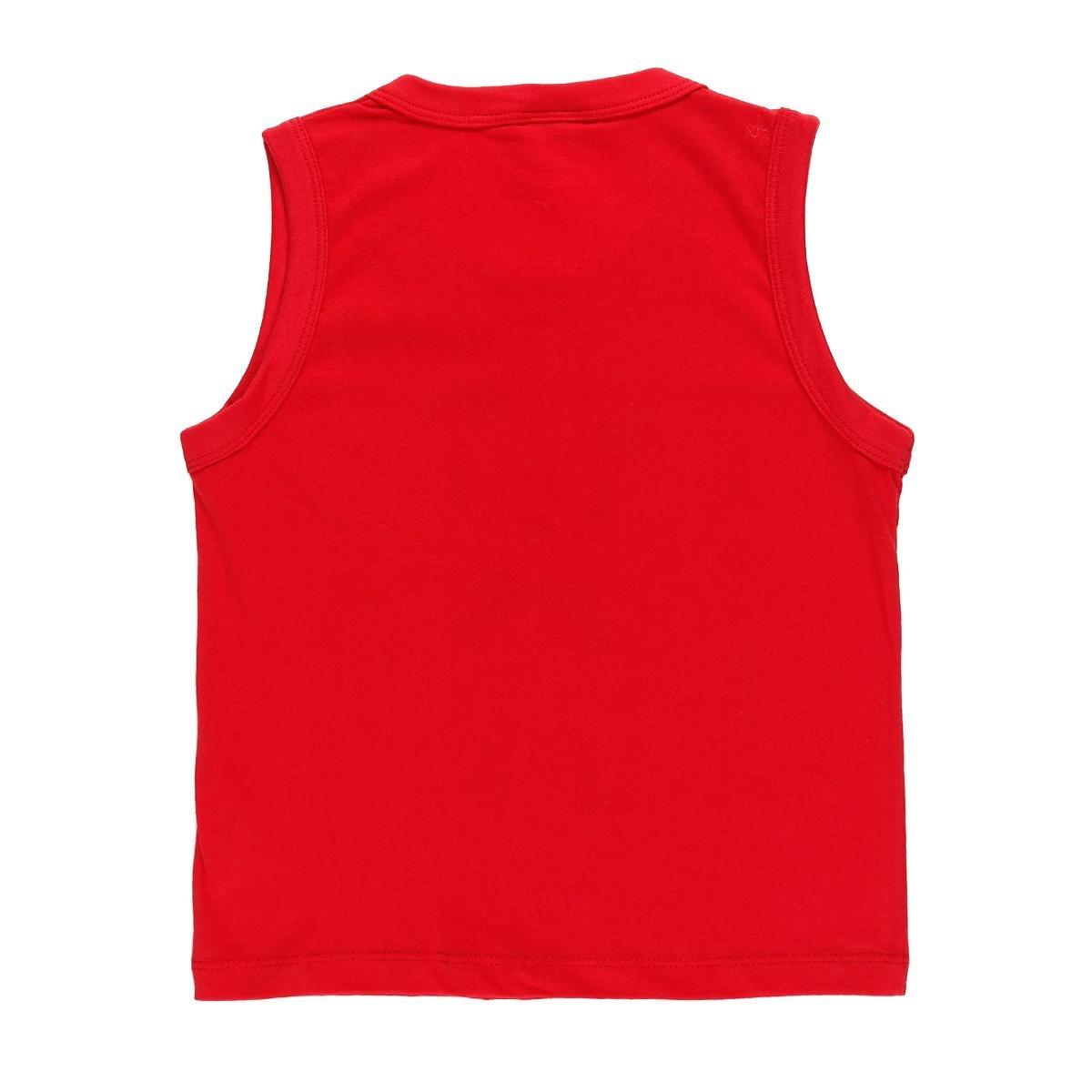Camiseta Regata Infantil Disney Baby Masculina - Vermelho - Compre ... 61f976205c7b9