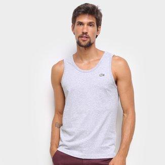 Camiseta Regata Lacoste Live Básica Masculina