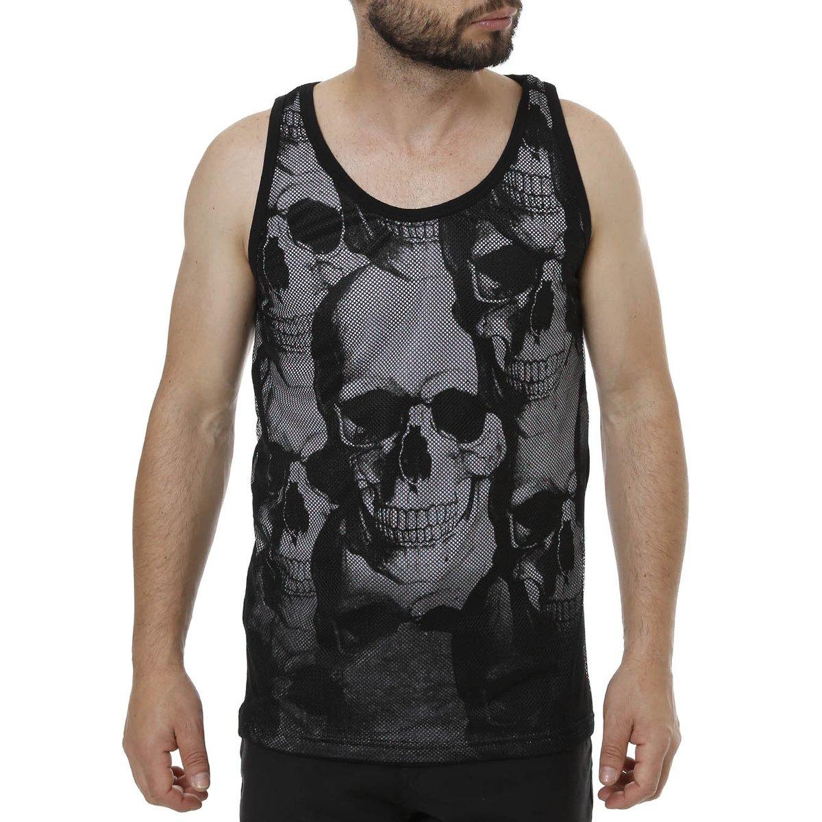 3840cca4dc Camiseta Regata Masculina Local - Compre Agora
