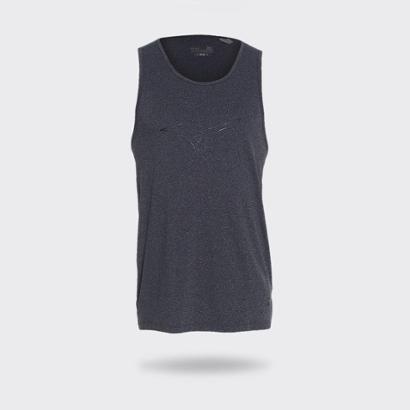 Camiseta Regata Mizuno Light Dry Masculina - Cinza - Compre Agora ... 0fb7392536d