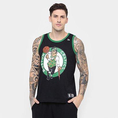 a89f8351217ed Camiseta Regata New Era NBA Basic Logo Boston Celtics - Compre Agora ...