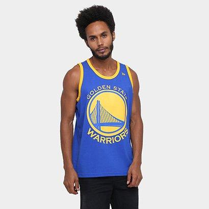 Camiseta Regata New Era NBA Basic Logo Golden State Warriors - Compre Agora   254754700fc
