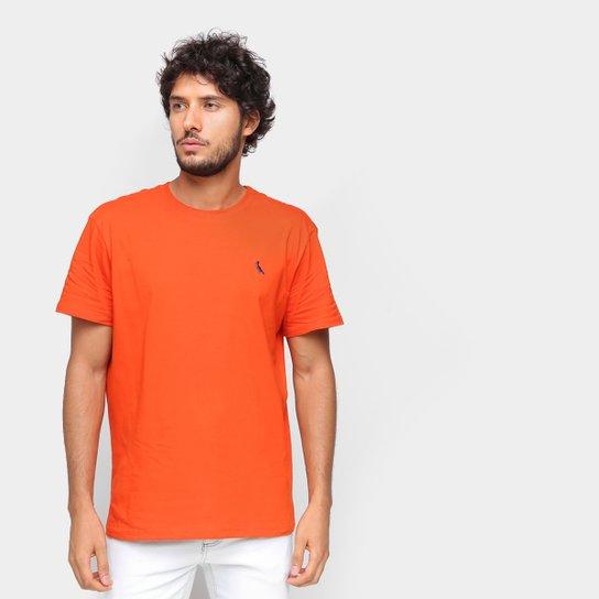 Camiseta Reserva Básica Masculina - Laranja