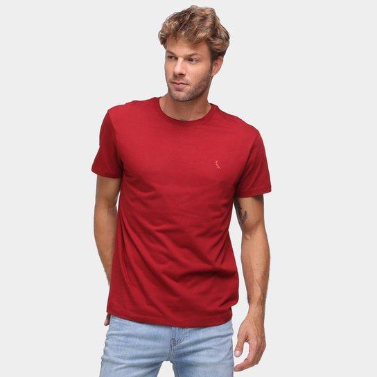 Camiseta Reserva Básica Masculina - Bordô