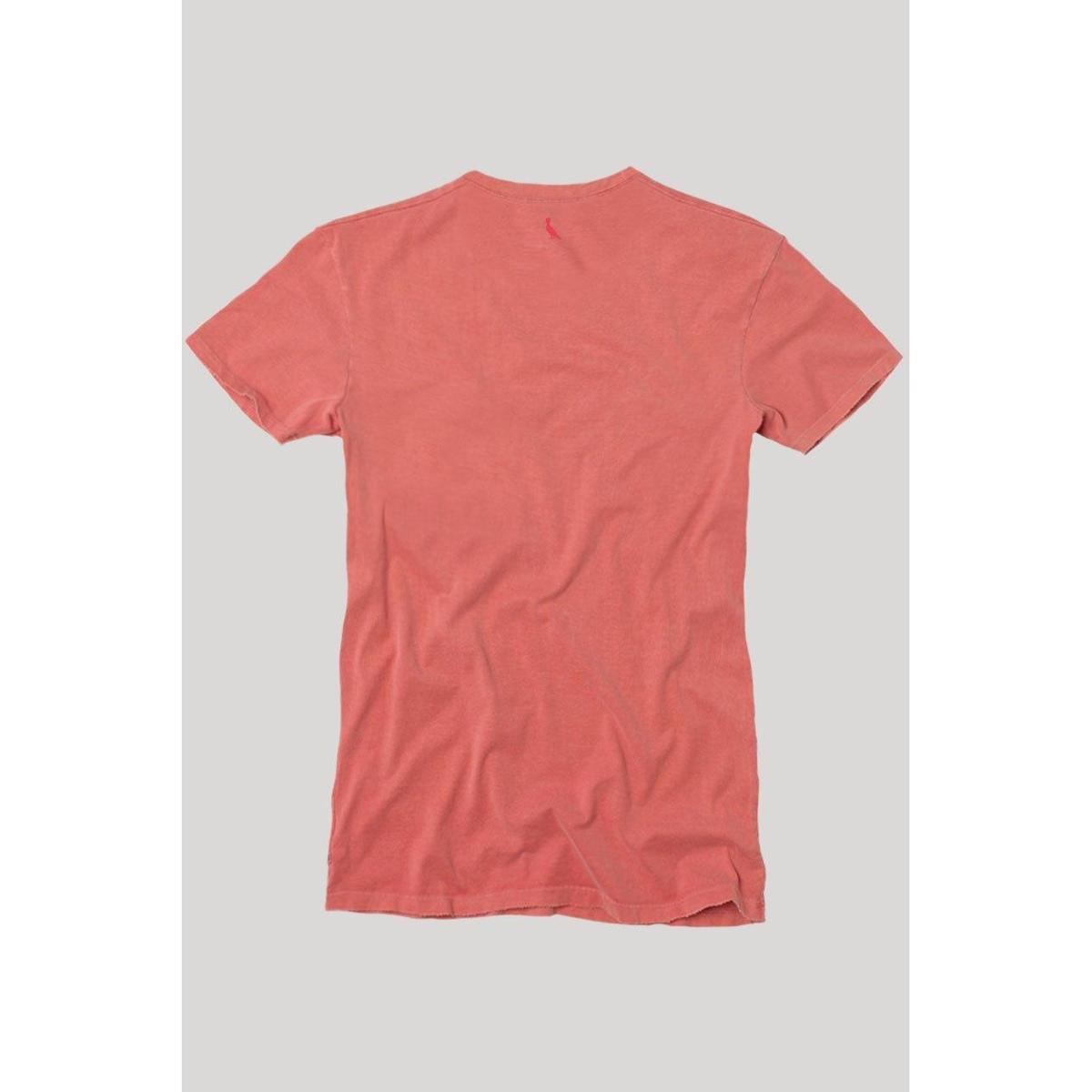 Camiseta Reserva Coqueiro - Vermelho Claro