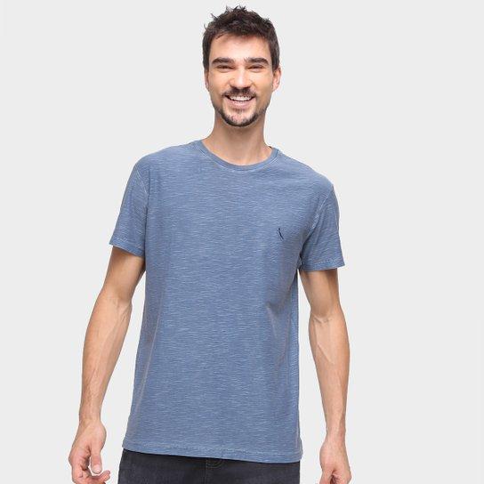 Camiseta Reserva Flamê Estonado Masculina - Marinho