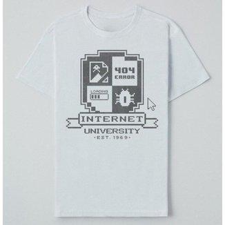 Camiseta Reserva Ink Internet University Masculina