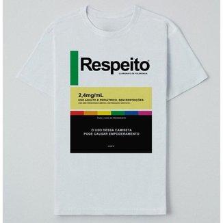 Camiseta Reserva Ink  Respeito Masculina